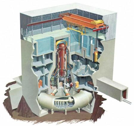 Конструкция реактора BWR на Фукусиме-1