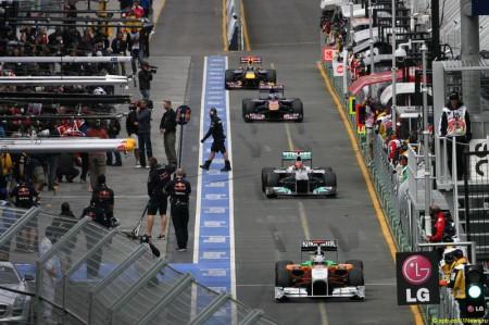 Formula 1 Grand Prix, Australia, Friday Practice
