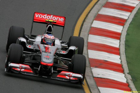 Formula 1 Grand Prix, Australia, Friday Practice, McLaren