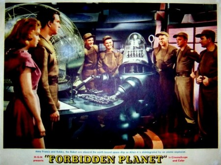 1 forbidden planet lobby card robby