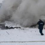 Фото с места падения Ан-148